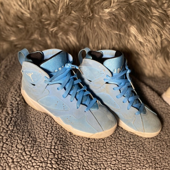Jordan Shoes   Baby Blue 7s   Poshmark
